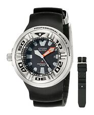 AUTHORIZED DEALER NEW CITIZEN ECO-DRIVE DIVER WATCH 48mm WATCH BJ8050-08E