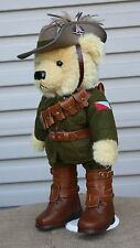 TROOPER JONES THE LIGHT HORSE BEAR - WW1 GREAT WAR AUSSIE DIGGER LIMITED EDITION
