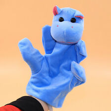 Baby Kids Child Hippo Animal Finger Puppet Infant Kid Toy Plush Toys &