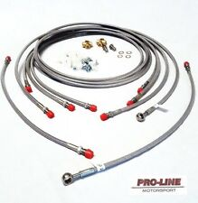 Nissan 200sx S14a ABS Delete Kit Race Drift Brake Line Lines hose ALL COLOU