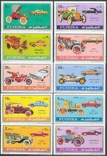 Fujeira 1971 ** Mi.608/17 A Autos Cars Mercedes Opel Fiat Cadillac Buick Citroen