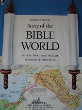 """Vintage Readers Digest Story of the Bible World Hardcover Book 1962 7 1/2"""" x 10"""""""