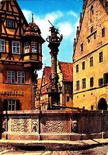 Rothenburg o.d. Tauber , St. Georgsbrunnen , Ansichtskarte ,ungelaufen