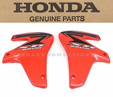 New Genuine Honda Radiator Shroud Set 2000-2007 XR650 R OEM Plastic (Notes) #V92