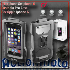 Supporto Custodia Moto Cellular Line Pro Case per Apple Iphone 6 Manubr tubolari