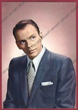 FRANK SINATRA 06 ATTORE ACTOR CINEMA MOVIE STAR CANTANTE SINGER Cartolina