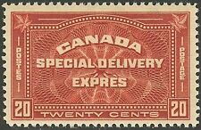 Canada #E4, 1930 20c Special Delivery, Unused LH