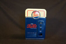 "Pepsi-Cola Drink Ice Cold Vending Machine Still Coin Piggy Bank 7"" x 4 1/2"""