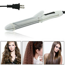 2in1 Salon Hair Straightener Curling Curler Flat Iron Hot CeramicIron Wave Wand
