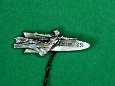 "USSR, Russian Soviet ""VOSTOK"" (EAST) Space Ship Pin Badge, 12 April 1961."