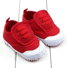 Toddler Boy Girl  Crib Shoes Newborn Infants Baby Sole Prewalker Sneakers