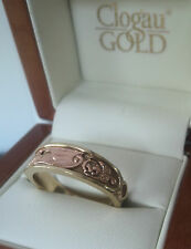Clogau Welsh Rose & Yellow Gold Dragon Ring - size P