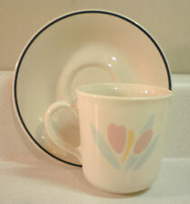 Corning/Corelle - TULIP ACCENTS - 8 oz. Cup and Saucer