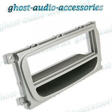 Ford Kuga Silver Curved CD Radio / Stereo Facia / Fascia Adaptor Plate