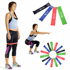 4Pcs Colors Stretch Resistance Loop Yoga Bands Home GYM Fitness Exercise Workout