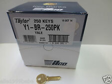 Lot of 50 Y1 YALE Key Blanks  / Brass / Made in USA  by ILCO