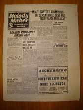 MELODY MAKER 1944 #590 JAZZ SWING MUSIC DJANGO KRUPA