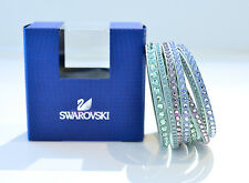 Swarovski Slake Bracelet light Green Deluxe 5120581 Authentic Brand New In Box