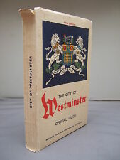 1939 - The City of Westminster Official Guide - Illustrated - Pen & Ink Drawings
