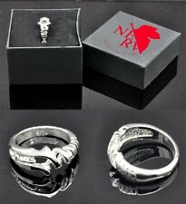 Neon Genesis Evangelion EVA Cosplay Spear of Longinus Ring 1PCS with Gift Box