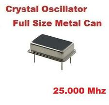 25.000Mhz 25.000 Mhz CRYSTAL OSCILLATOR FULL CAN ( Qty 10 ) *** NEW ***