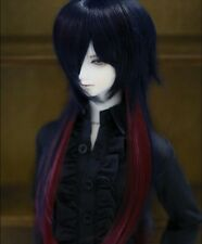 Bjd Doll Wig 1/3 8-9 Dal Pullip AOD DZ AE SD DOD LUTS Dollfie blue red Toy Hair