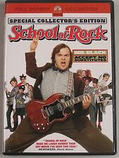 2004,DVD,The School of Rock, Special Collector's Edition, Full Screen,Jack Black