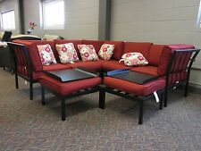 Waubesa patio chatting sofas