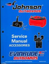 1998 OMC EVINRUDE & JOHNSON OUTBOARD ACCESSORIES SERVICE MANUAL NEW P/N 520213