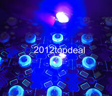 10pcs 3W High Power ULTRA VIOLET UV LED 395-400nm Aquarium on 20mm star base