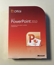 MS Powerpoint 2010 Vollversion deutsch neu inkl. 2ter Installation 079-05190
