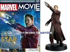 MARVEL MOVIE COLLECTION #7 STARLORD FIGURINE CHRIS PRATT EAGLEMOSS NEW