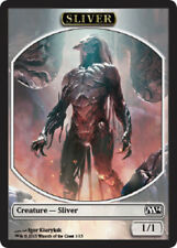 Sliver Token x4 Magic the Gathering 4x Magic 2014 mtg card lot