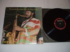Pharoah Sanders Live At The East LP Stanley Clarke Cecil McBee Free Jazz