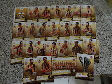 2015 AFL SELECT HAWTHORN PREMIERSHIP SET OF 25 CARDS BOX SET 3 PEAT JUST IN