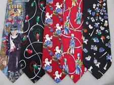 Santa Surprise 2 Christmas Xmas Holiday Silk Men's Ties Necktie Neck Tie Lot #C3