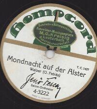 Orchester Jenö Fesca spielt Walzer : Mondnacht auf der Alster + Schatzwalzer