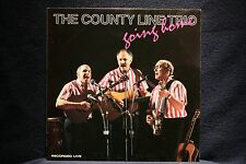 COUNTY LINE TRIO-Going Home Recorded Live-Folk Music Classic Near Mint LP