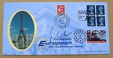 European P. 1999 BENHAM FDC PARIGI/Ashford HS firmato MEP SIR JACK Stewart-CLARK
