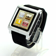 Aluminum Multi-Touch Watch Band Kit Wrist Strap Bracelet For iPod Nano 6
