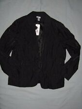 NWT Chico's 3 Jacket 16 18 Crinkle Holiday Party Christmas SIMPLE SHINE Women