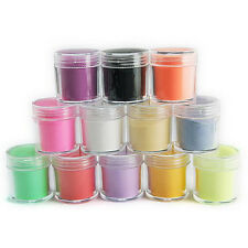 Practil Superior Durable 24 Color Acrylic Powder Dust Nail Art Decoration