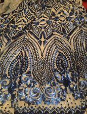High Quality Sequin, Dress Making, Mesh Wedding Fabric