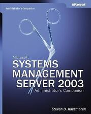 NEW - Microsoft(R) Systems Management Server 2003 Administrator's Companion