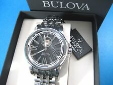 BULOVA ACCUTRON KIRKWOOD SWISS 63A103 AUTOMATIC 26 JEWELS MEN'S CASUAL WATCH S/S