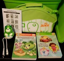 Leap Frog Tag Junior Book Reader w/ Case, USB Cord, Instructions, & 2 Books