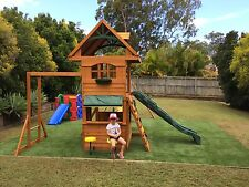 Playground artificial grass sydney Cubby House Artificial Turf and Soft Fall