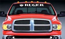 ruger windshield banner decal redneck deep south southern style rebel archery