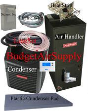 2 Ton 15 seer Goodman Heat Pump  GSZ140241+ASPT29B14 25ft Lineset Install Pkge.