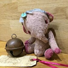 mohair bear shabby chic OOAK Please allow 10 working days for dispatch